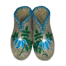 Modrý květ
