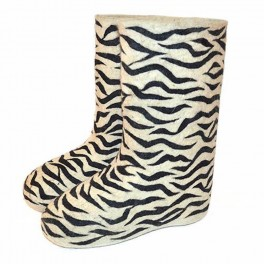 Válenky – vzor Zebra